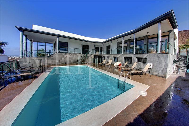 Villa castillo castillo - Villas en lanzarote con piscina privada ...